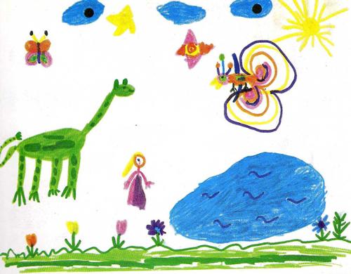 Pourquoi interpr ter les dessins de son enfant - Dessin chambre d enfant ...